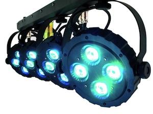 Bild: DJ Lichtanlage